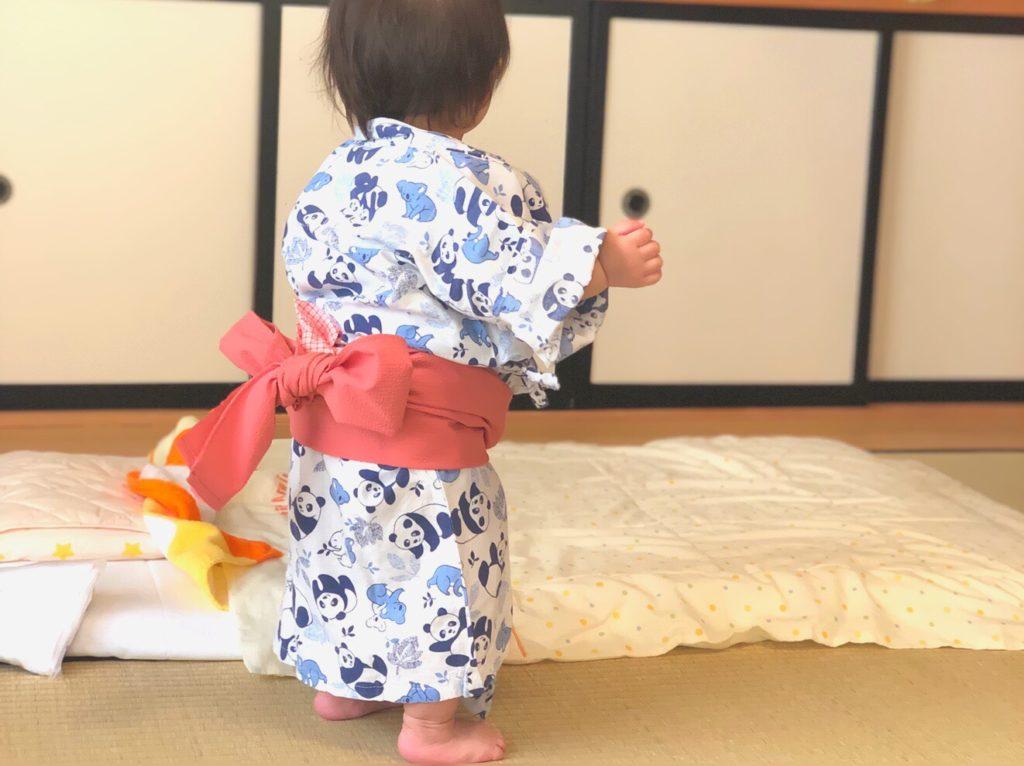 子ども用レンタル浴衣